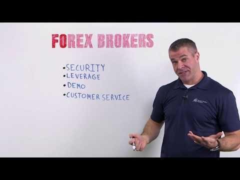 Picking a forex broker