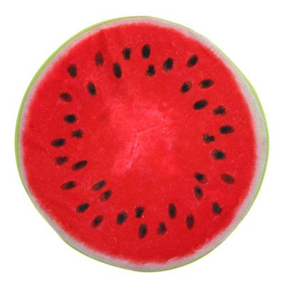 ASLT New Arrival 3D Summer Fruit PP Cotton Office Chair Back Cushion Sofa Throw Pillow Good Gifts For Friend Lover Free