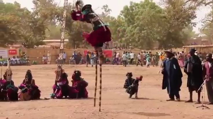 African traditional zaouli dance best scenes original african music