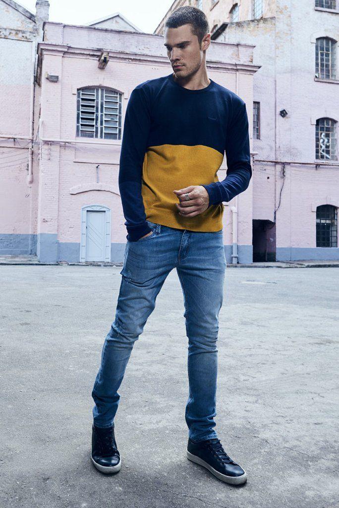 4eeb5e32f Calca Jeans Felipe | Looks | Calça jeans slim, Jeans e Calça jeans