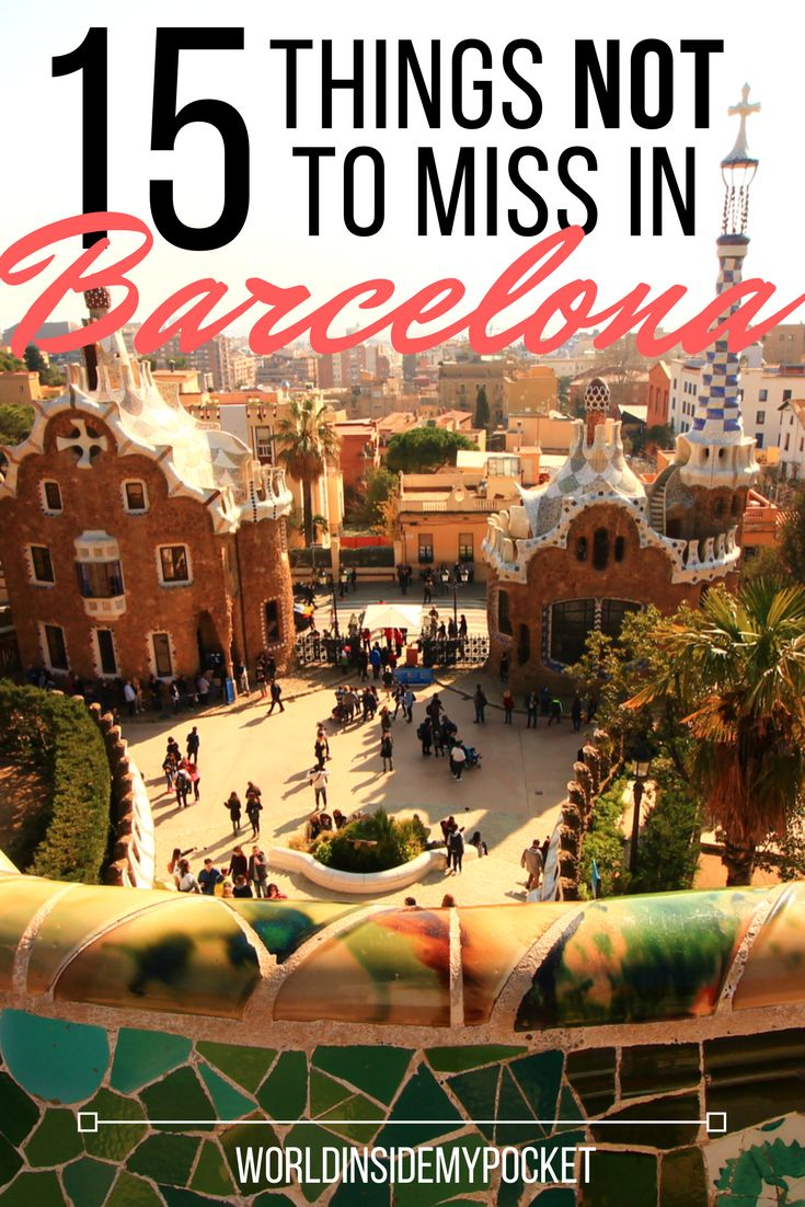 Here is the perfect Barcelona itinerary for a perfect weekend city break to Catalonia's sunny capital. 15 attractions to add to your list!