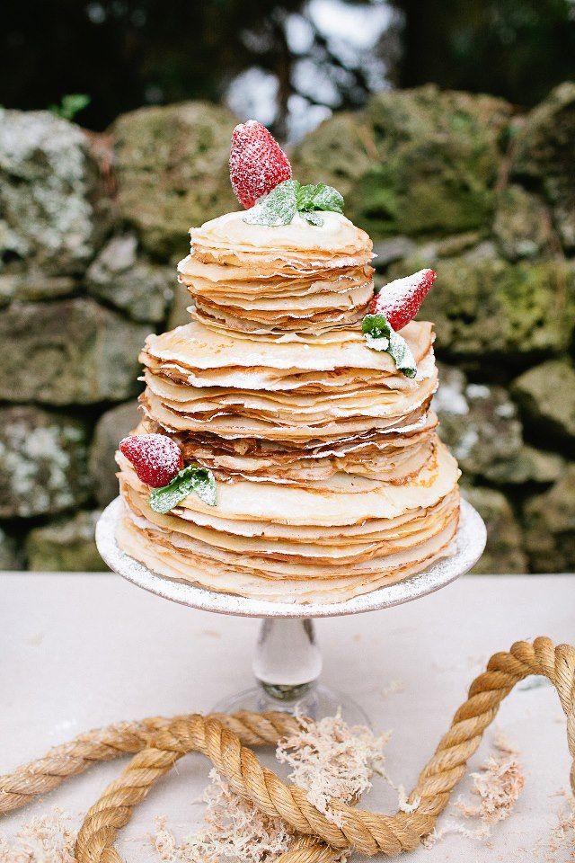 pancake cake :): Crepes Cakes, Wedding Cakes Alternative, Cakes Ideas, Bananas Cupcakes, Chocolates Covers Bananas, Cupcakes Recipes, Brunch Wedding, Bananas Cakes Recipes, Food Cakes