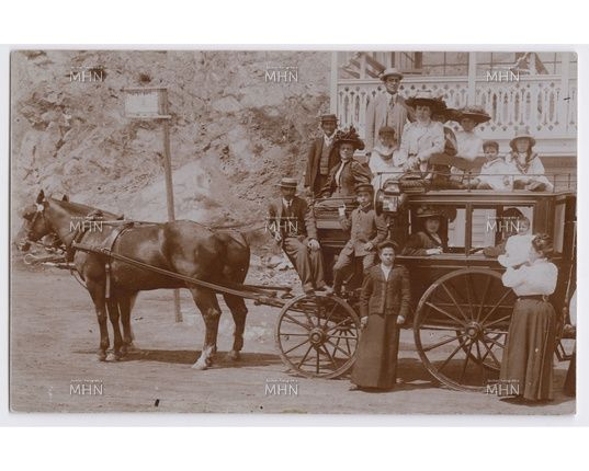 1900, coche omnibus de Gertrudis Echeñique