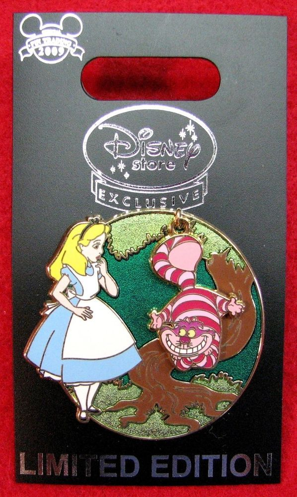 Disney Pin 68560: Disney Store Europe: Alice and the Cheshire Cat LE 1000 MOC