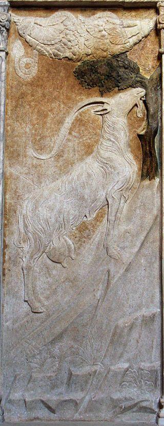 Cappella dello zodiaco, agostino di duccio, segni e pianeti 16 capricorno 2 - Category:Capricorn (astrology) - Wikimedia Commons