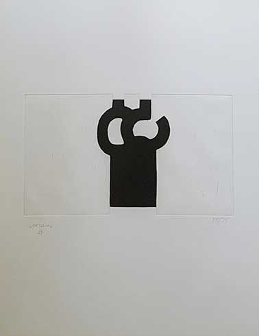 Obra gráfica de Eduardo Chillida en venta, grabado Yves Bonnefoy - Le Miracle du…