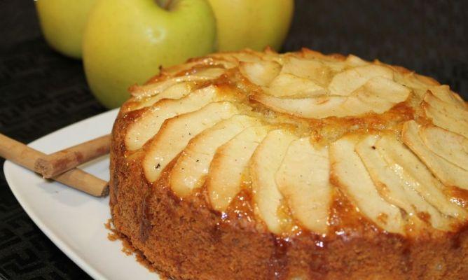 Tarta de manzana sueca