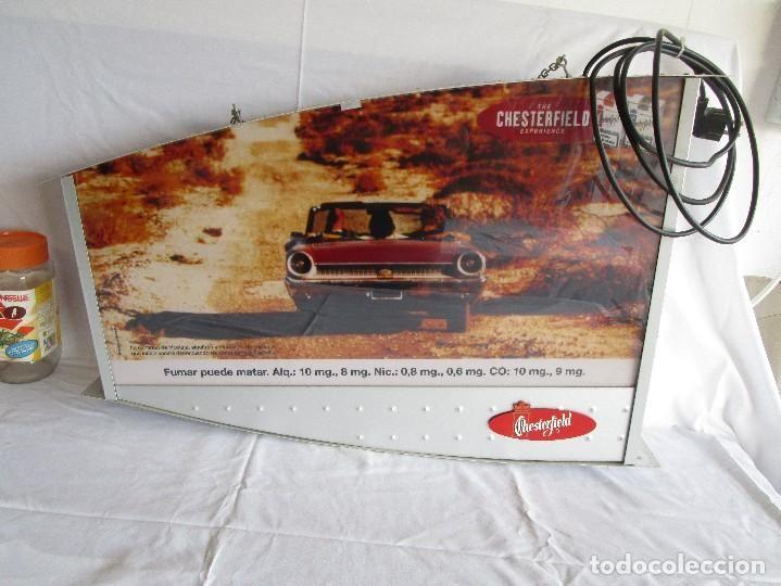 cartel luminoso tabaco chesterfield - Foto 1