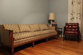 Mid-century sofa, french style