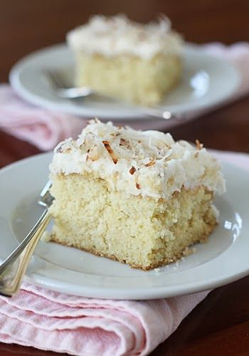 The Galley Gourmet: Old Fashioned Coconut Sheet Cake