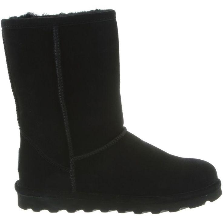 Bearpaw Women's Elle Short Winter Boots, Size: 8.0, Black