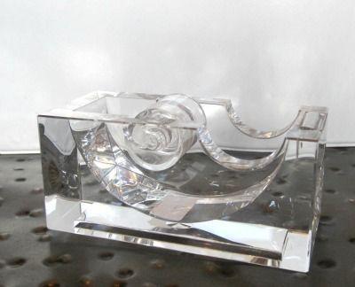 lucite tape dispenser russell hazel clayton gray home acrylic lucite desk accessory - Lucite Desk