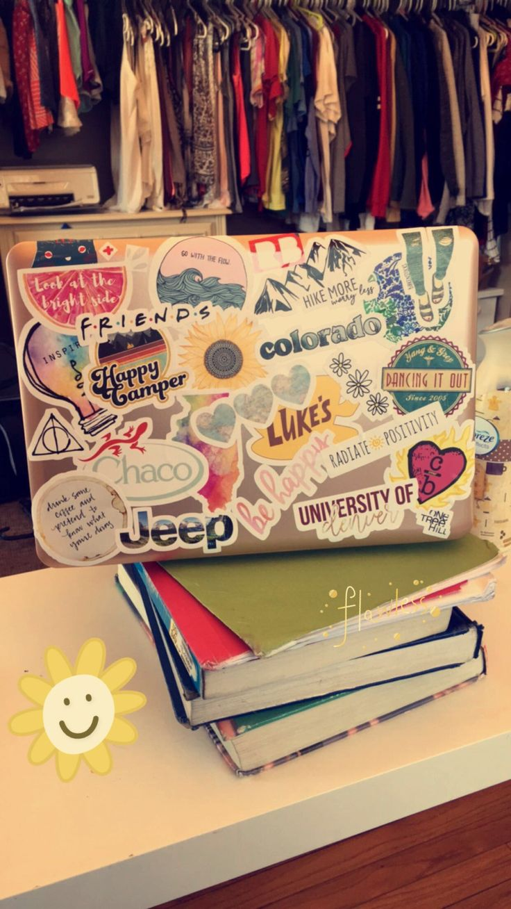 laptop stickers from redbubble
