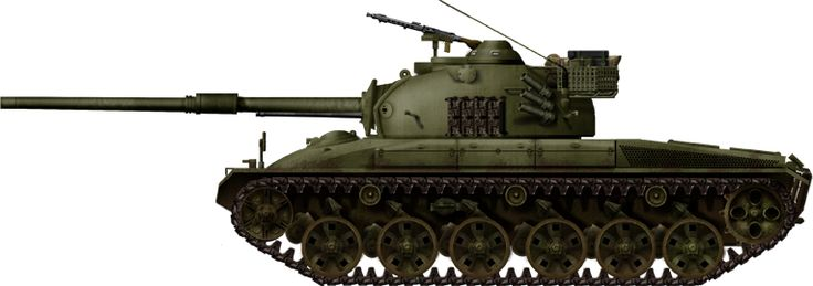 Panzer 58, later converted to the Pz 61 standard