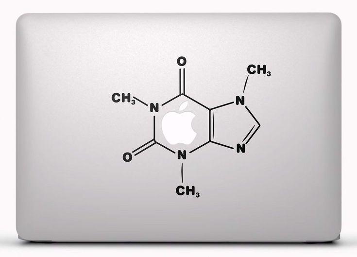 Pegatinas: Cafeína Vinilo, pegatina, adhesivo para portátil, Mac, o Macbook. #vinilosportatil  #vinilosmac #vinilosmacbook