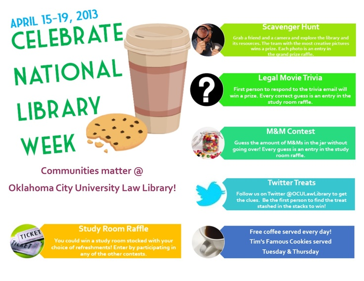 11 best National Library Week images on Pinterest | Library ideas