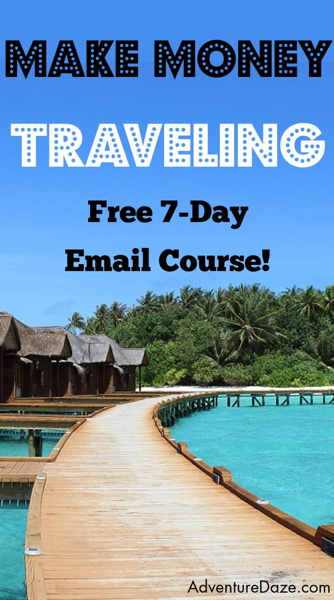 In this free email course I teach you exactly how I get paid to travel the world and how you can too! I've been to more than 40 countries and I'll show you how to start earning income just like me.