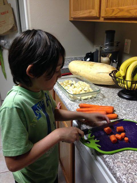 Rico, Facil y nutritivo: Zalvahorias