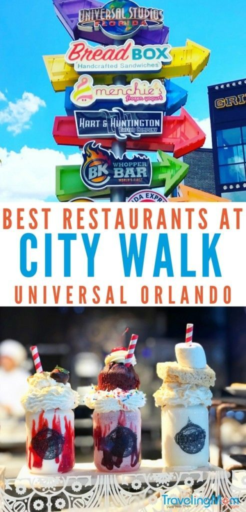 7 Best Places to Eat at Universal City Walk