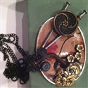 Rio Collage jewelry: Crafts Ideas, Crafts Glue, Crafts Knifes, Crafts Finding