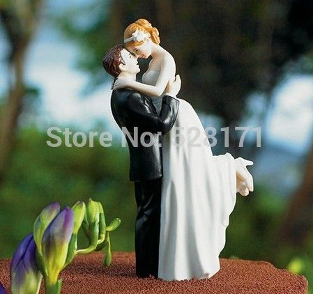 $25 bride and groom cake topper