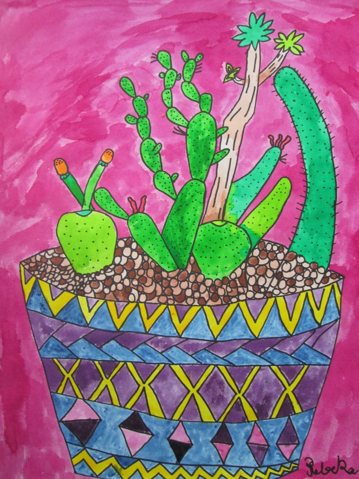 Vivid and Dye Cacti