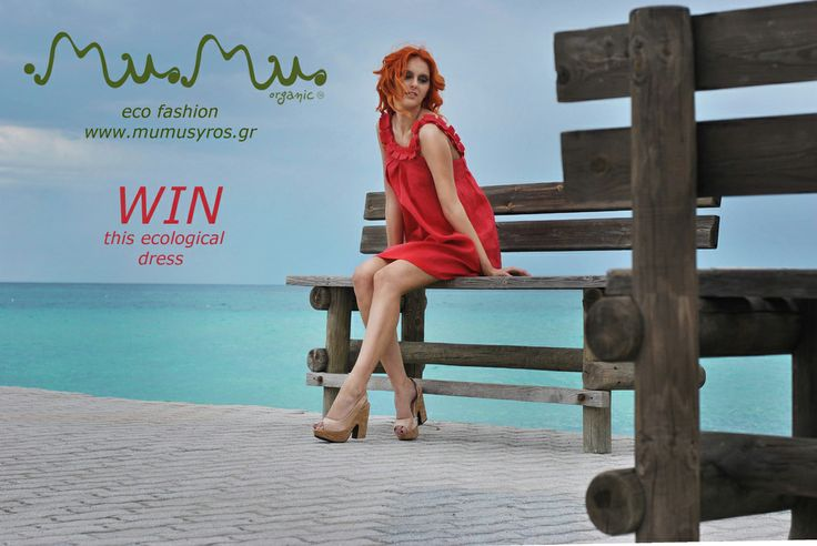 NEW Giveaway by MuMu organic! ENTER and WIN the lovely Aphrodite dress from our SS14 collection!!! https://www.facebook.com/MuMuOrganic?sk=app_289264554441128