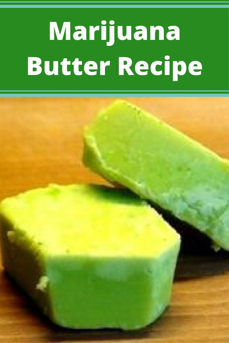 Marijuana Butter Recipe  www.irierebel.com