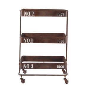 This is an industrial trolley.