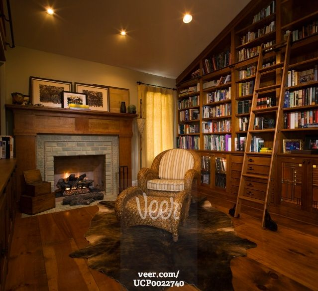 library fireplace - Google Search | Complete Bedroom Set Ups ...