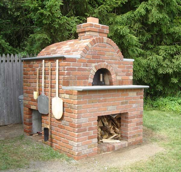 Fancier Cathedral clay oven