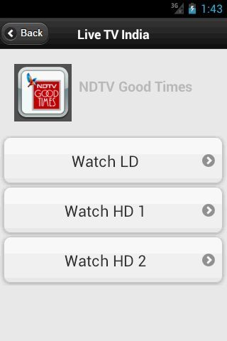 """Watch your favorite TV channels Live in your mobile phone with this free Android application on your Android device.<br/><br/><br/>THIS APPLICATION ONLY PROVIDES THE LINKS FOR THE LIVE STREAMING CHANNELS. ALL THE LINKS ARE GATHERED FROM VARIOUS FREELY AVAILABLE WEB SITES.<br/><br/>Watch streaming live Indian TV Channels free on your Phone for free from across the world. """"Live TV India"""" app shows you the way to see Live TV on mobile. Enjoy watching Online TV for free.<br/><br/>Key…"""