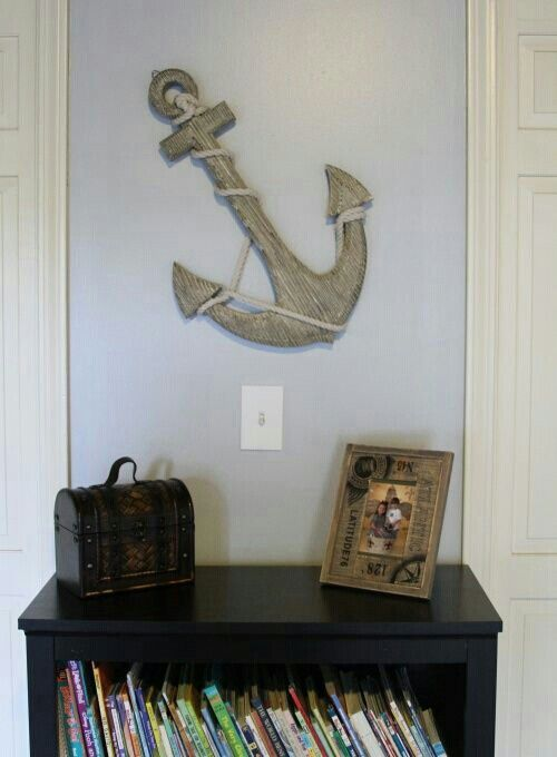 ... and Props on Pinterest  Ship wheel, Pirate quilt and Pirate ship bed
