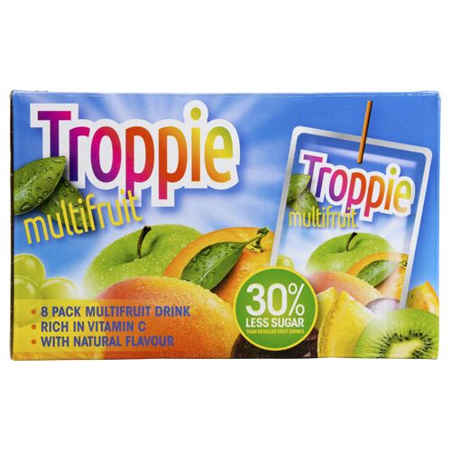 troppie limonade fruits 8-pack multifr.