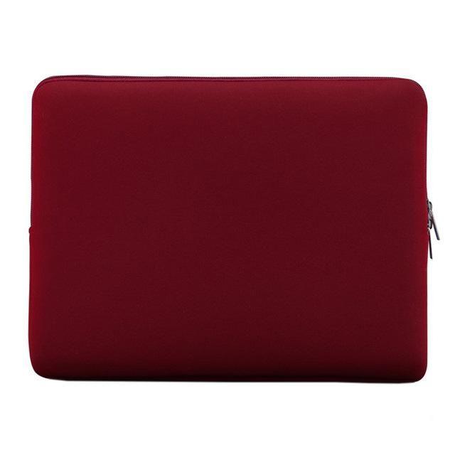 "Portable Laptop Bag Zipper Soft Sleeve Design Laptop Case for 14-inch 14"""