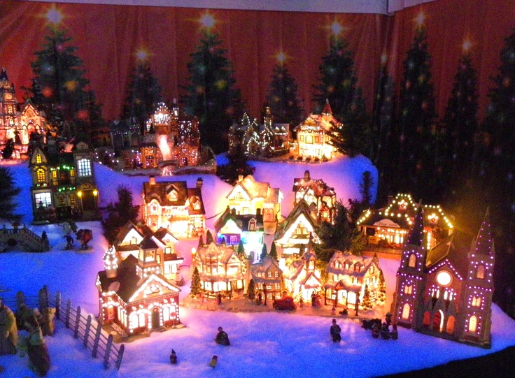 312 Best Images About Christmas Village Display On