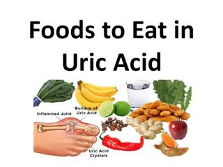 inner outer healthy: Food for Uric Acid Patients