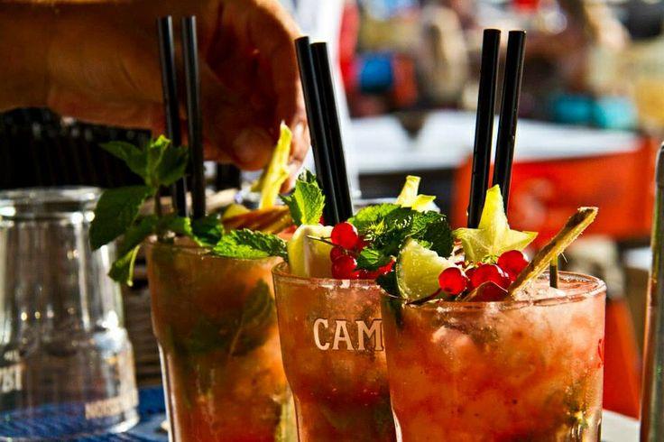 starfruit drinks Singita the miracle beach Fregene Italy Rome