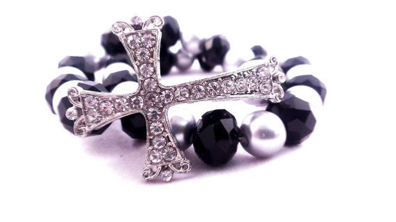 Hey, I found this really awesome Etsy listing at https://www.etsy.com/listing/123321701/black-swarovski-crystal-cross-and-pewter
