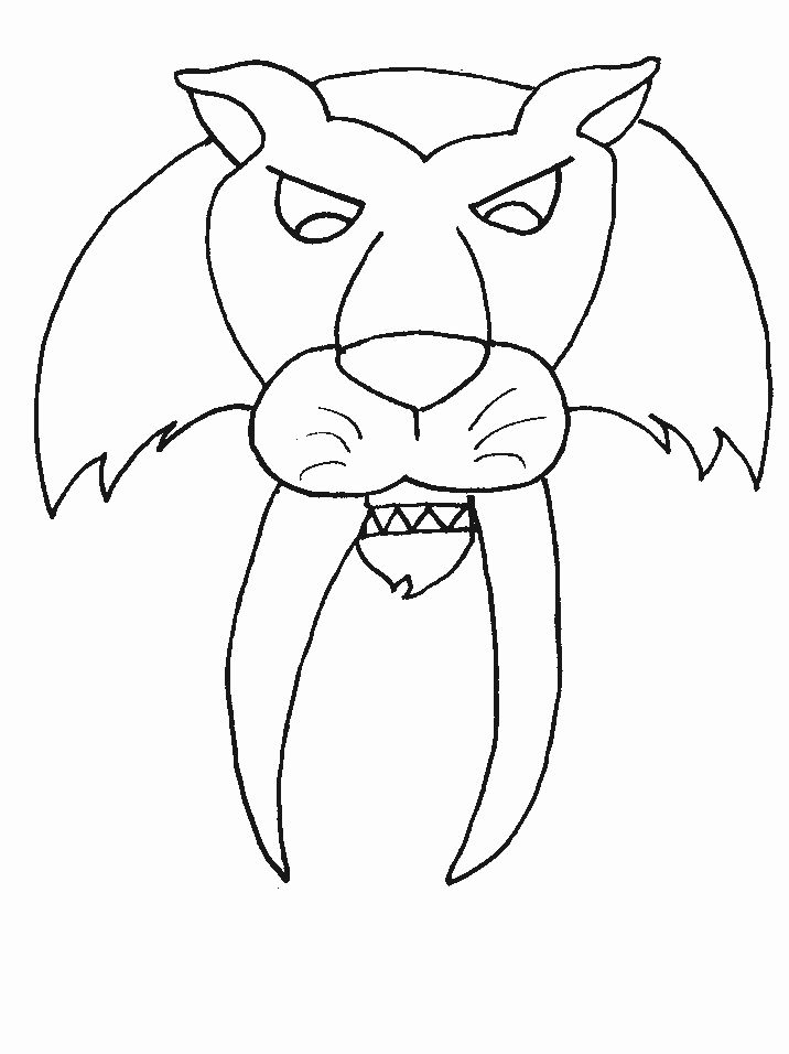 Saber Tooth Tiger Coloring Page New Tigers Sabertooth Animals Coloring Pages Coloring Book Shark Coloring Pages Dinosaur Coloring Pages Paw Patrol Coloring