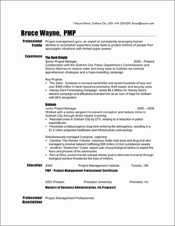 Project Manager Resume Sample Doc Unique Canadian Resume Format Doc Planner Template Free Project Manager Resume Job Resume Samples Manager Resume