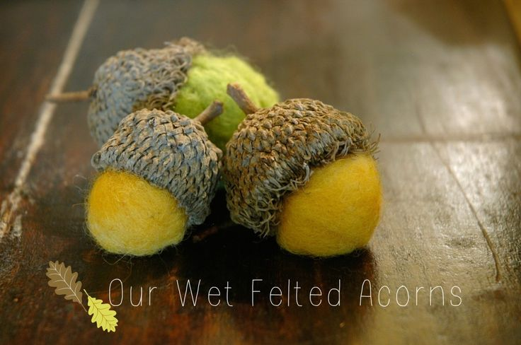 Wet Felting.