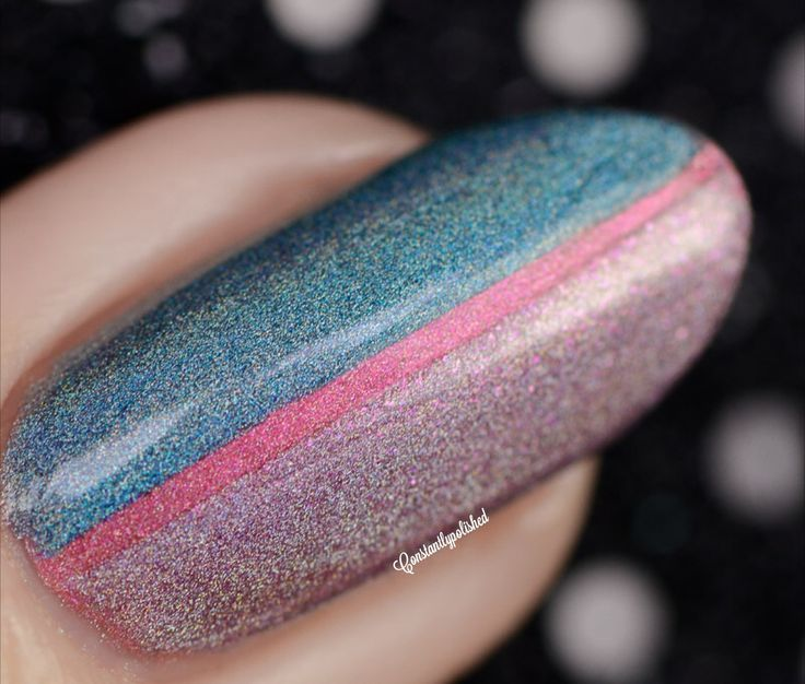 Mani by Constantly Polished, using 3 Spells from the Charlie Loves Bella collection!