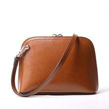 2017 Женская сумка натуральная кожа известная марка масла Воск женская сумка сумки на плечо Bolsa femininas Crossbody Малый Мини C268(China (Mainland))