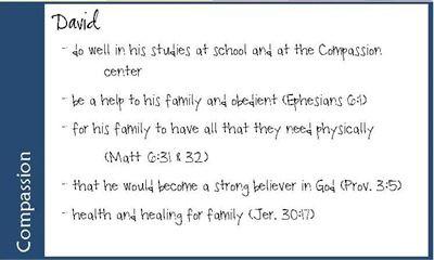 Prayer cards! (Paul Miller)