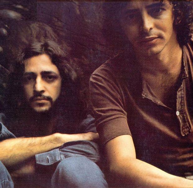 Alceu Valença e Geraldo Azevedo se tornaram amigos e parceiros musicais. Foto: Arquivo pessoal/Divulgação