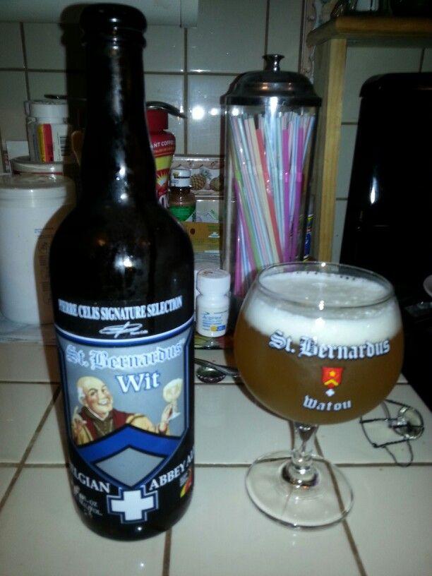 St. Bernardus wit Belgian beer