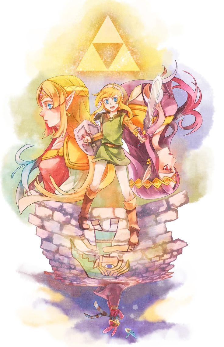 The Legend of Zelda: A Link Between Worlds artwork by 607.