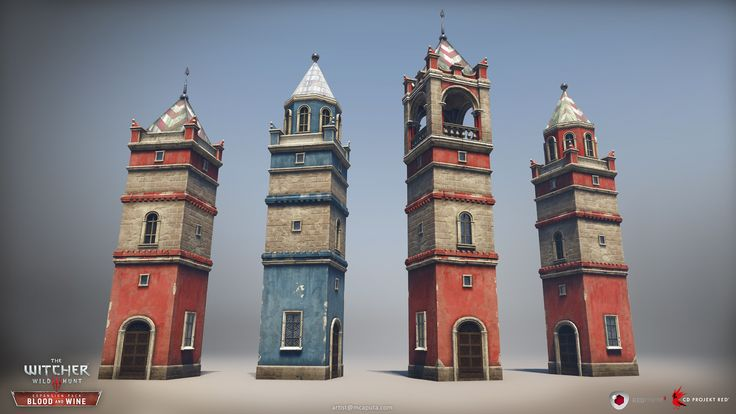 In this project my major responsibility was to create assets, mostly buildings for the city of Beauclair and some generic models used across the whole Toussaint land. In addition to the assets creation I was also involved in blocking out the port district and dressing some locations. Please keep in mind that some of those screenshots contains art work of the other CD Projekt Red team members.