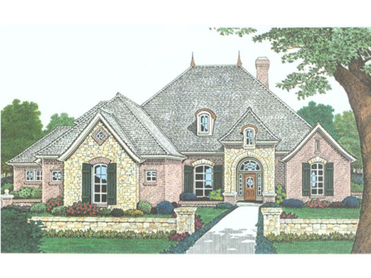 European ranch home designs